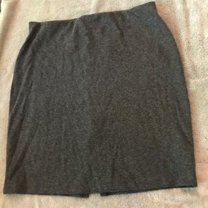 Old Navy Charcoal Gray Knit Pencil Skirt Size M